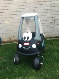 Police Little Tikes cozy coupe