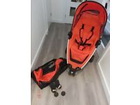 QUINNY ZAP BUGGY with £80 worth of Etras
