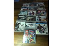 16 PS3 games bundle