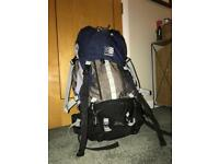 Karrimor 75 litre back pack