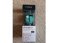 Fitbit Charge HR - Small, Teal