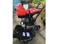 Mothercare Xpedior pram, travel system, pushchair