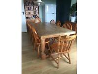 Kitchen Dining Table with 8 chairs