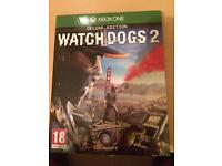 Watch dogs 2 Xbox one deluxe editoon