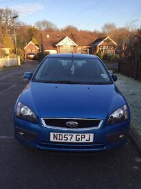 Ford Focus 1.6 Zetec Climate 5dr Blue