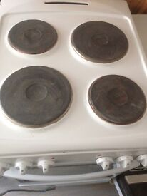 Electric freestanding oven, Currys, hardly used,