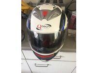 Motor bike crash helmet size medium