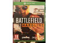Xbox One Battlefield Hardline game
