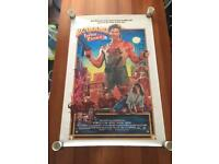 Big trouble in Little China US one sheet original film/movie poster