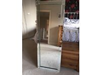 Full length glass mirror from Next
