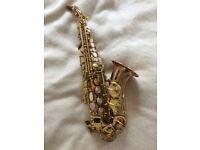 Yanagisawa SC-992 lacquered bronze curved soprano saxophone