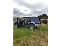 """TOYOTA HILUX SURF GEN3- 3.0 AUTO-ABS & Airbags. 2"""" Suspension lift (cost £600) new exhaust. Towbar"""