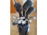 Full Set Golf Clubs and Cart Bag