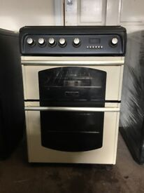 Cannon gas cooker CH60GTCF 60cm FSD cream double oven 3 months warranty free local delivery!!!!!