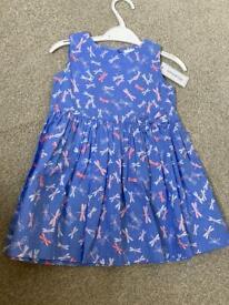 Bluezoo girls dress 9-12 months