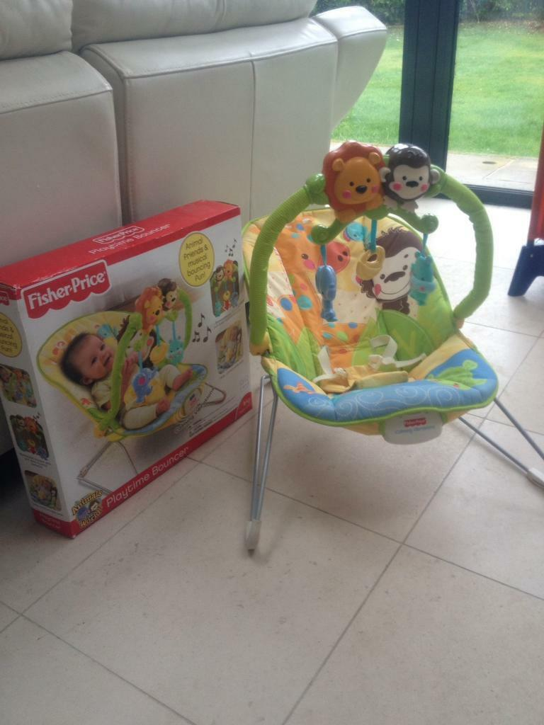 Animal Automatic Baby Bouncer Bright Starts Ingenuity Smartbounce Winslow Fisher Price Animals Of The World Playtime For 768x1024