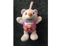 Vtech pink singing bear