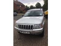 For sale Jeep Grand Cherokee 2.7CRD, silver,