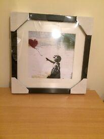 Framed BANKSY Print - £10