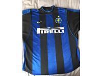 Inter Milan home shirt size L