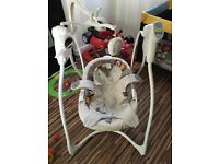 baby swing very good condition and clean