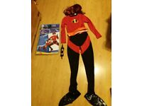 Official Disney Mrs Incredible costume women's size small.