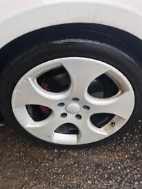 SWAP? GTI Wheels, Alloys, Rims, Good tyres, slight damage
