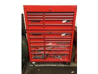 Snap On roll cab and top box 40 inches wide