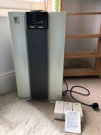 Air Purifier - Nikken Air Wellness power 5, Model KSAP1000, clean HEPA system - second hand £50 ono