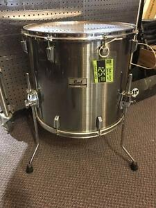 "Drum / Floor Tom Pearl World Series 18x16"" usagé/used"