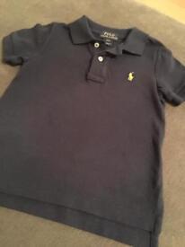 Navy Ralph Lauren Polo Shirt