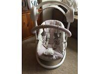 Baby swing seat