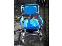 Ocean wheeled shower chair