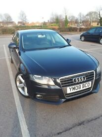 Full leather Audi a4 2.0tdi new cam belt, clutch, flywheel, water pump, and tyres.