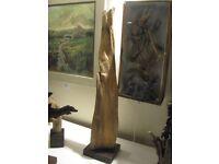 Natural Wood Sculptures