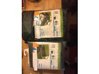 2 garden furniture cover sets