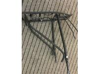 Pannier rack for hybrid or road bike cycle