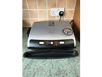 George Foreman-Lean Mean Fat Grilling Machine-12205 -(Used)