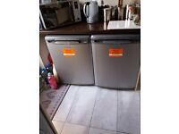 Frost free full size under counter fridge and frezzer .excellent condition 11 mnths old