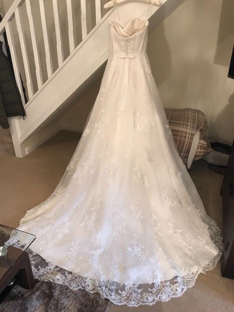 Sorterro & Midgley Noreen Wedding Dress size 12 worn once, excellent ...