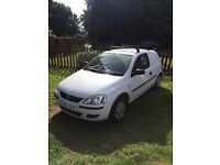 2006 white Vauxhall Corsa Van 1.3 diesel with full service history
