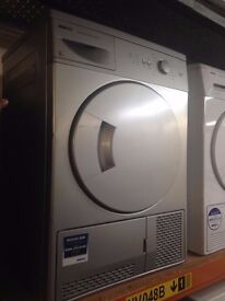 BEKO 6KG CONDENSER SENSOR DRYER SILVER RECONDITIONED