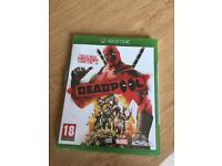 Dead pool Xbox one game brand new