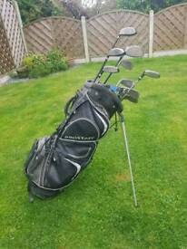 Ben Sayers M2 golf clubs with wilson bag