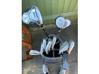 Golf clubs golf bag Nike Mitsubishi iron set
