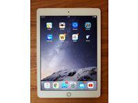 Apple iPad air 2 gold 64gb wifi cellular