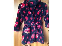 Spider-Man Dressing Gown, age 5-6