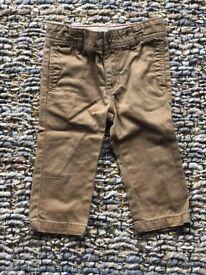 Pants Carter 12 Months %100 Cotton