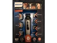Philips Series 5000 Multigroom and Series 3000 Body Groomer