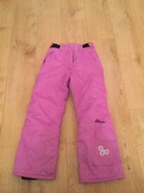 Purple 'Girls Snow Power Trousers' 8-10